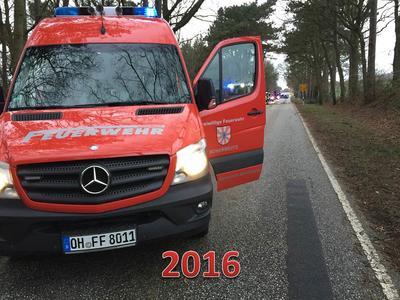 Scharbeutz FFS Einsätze 2016